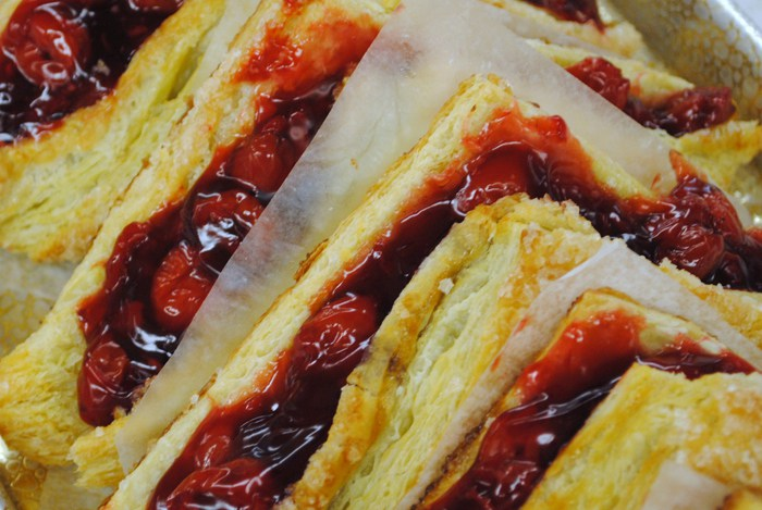 Pastries Cherry Turnovers