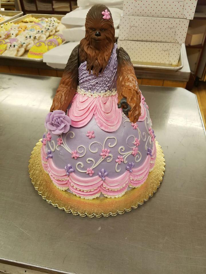 Princess Chewy Cake