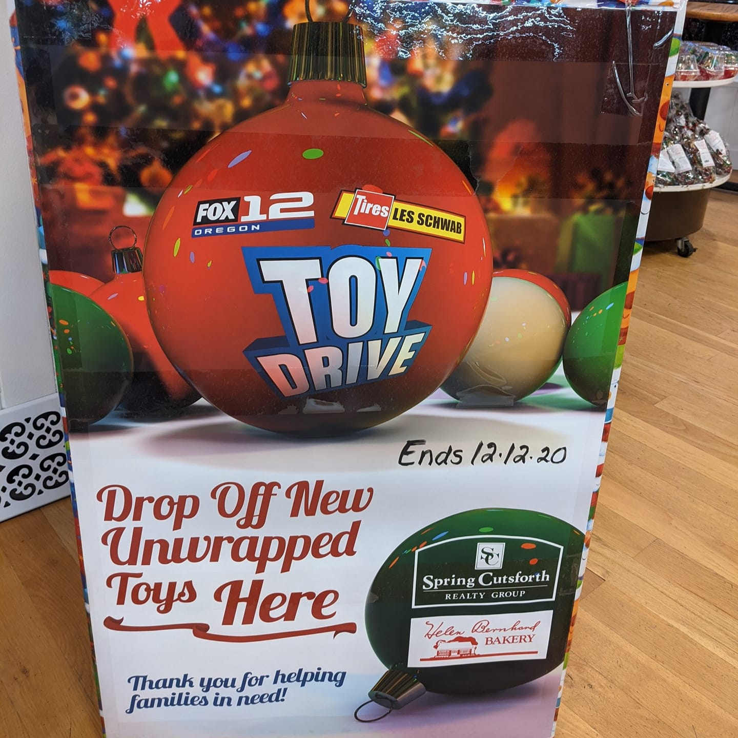 drop off an unwrapped to